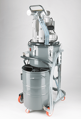 Vacuum cleaner for separating chips and recycling lubricating oils TC100 IF