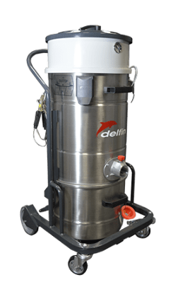 ATEX CERTIFIED COMPRESSED AIR INDUSTRIAL VACUUM CLEANER FOR ZONES 1, 2, 21, 22 202 DS AIREX