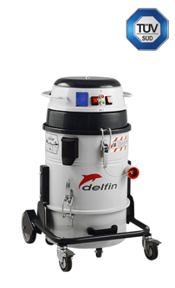 CERTIFIED INDUSTRIAL VACUUM CLEANER FOR FINE DUST EXTRACTION 301 DRY TUV