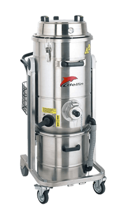 ATEX CERTIFIED COMPRESSED AIR INDUSTRIAL VACUUM CLEANER FOR ZONES 1, 2, 21, 22 352 DS AIREX