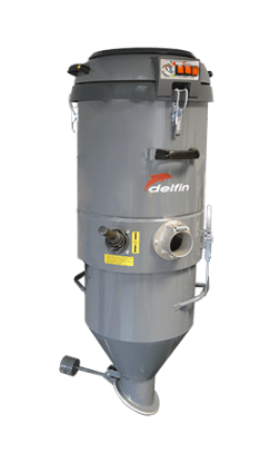 SINGLE-PHASE INDUSTRIAL VACUUM FOR LOCALISED DISCHARGE AS FIXE 3M