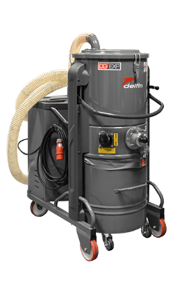 INDUSTRIAL VACUUM CLEANER FOR ASBESTOS DG 50 EXP ASBESTOS