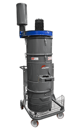 INDUSTRIAL CHIPS AND DUST COLLECTOR WITH AUTOMATIC FILTER CLEANING SYSTEM