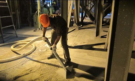 SOLUTIONS FOR CEMENT AND BRICK DUST EXTRACTION