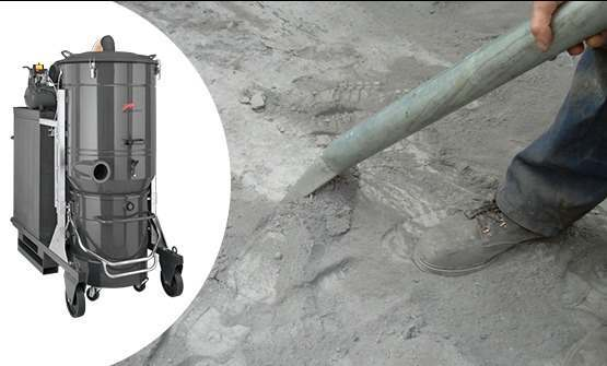 SOLUTIONS FOR CEMENT AND BRICK DUST EXTRACTION DG300 SE