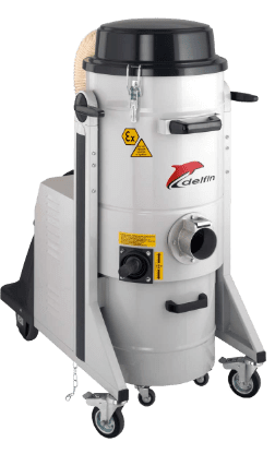 ATEX ZONE 22 CERTIFIED INDUSTRIAL VACUUM CLEANER 3533 Z22 - II 3D