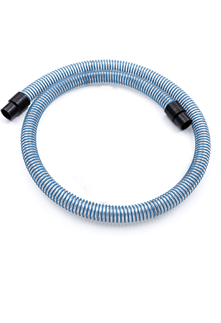 Oil and chips flexible hose
