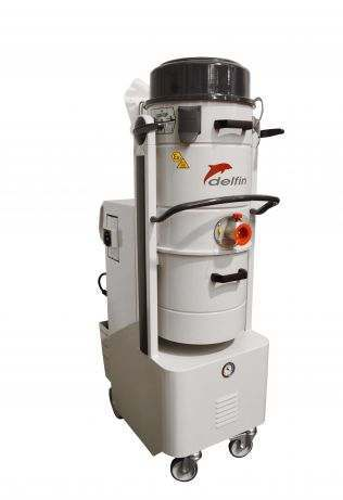 Industrial vacuum for pharmaceutical industry